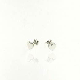 Lovely - Сребърни обеци без камък 111131-Сребърни бижута