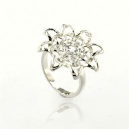 Latoia - Сребърен пръстен с Цирконий 1616112-Сребърни бижута