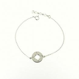 Direction - Сребърна гривна без камък 201124-Сребърни бижута