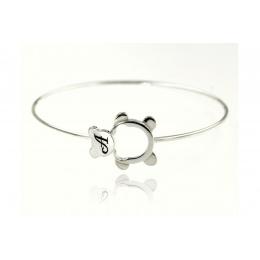 Nikolette - Сребърна гривна без камък 201208
