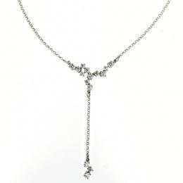 Caity - Сребърно колие с Цирконий 701117-Сребърни бижута