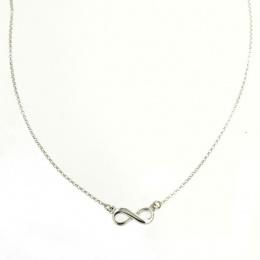Alaya - Сребърно колие без камък 701125-Сребърни бижута