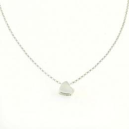 Lovely - Сребърно колие без камък 701131