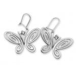 Dana - Сребърни обеци с Цирконий 130026-Сребърни бижута