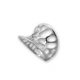 Lusia - Сребърен пръстен без Камък 1546031-Сребърни бижута