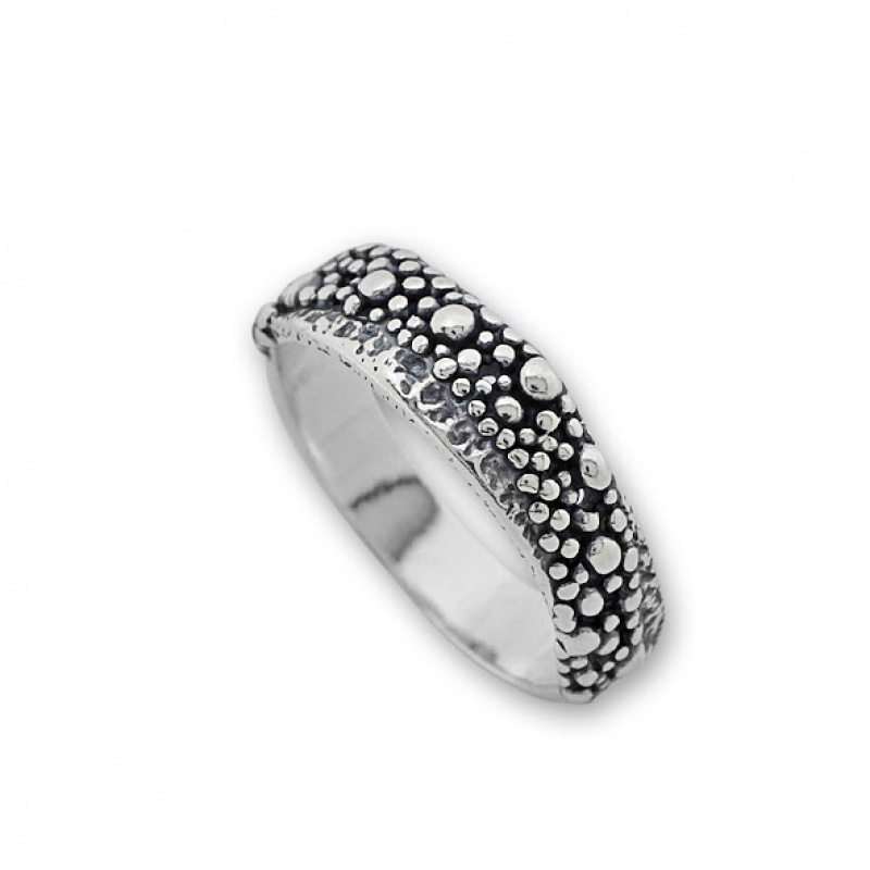 Chaz - Сребърен пръстен без Камък 1565254-Сребърни бижута