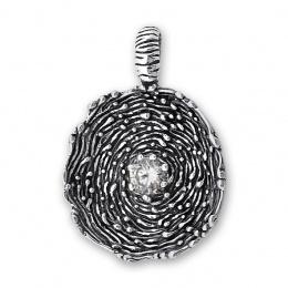 Cornelius - Сребърна висулка с Цирконий 182025-Сребърни бижута