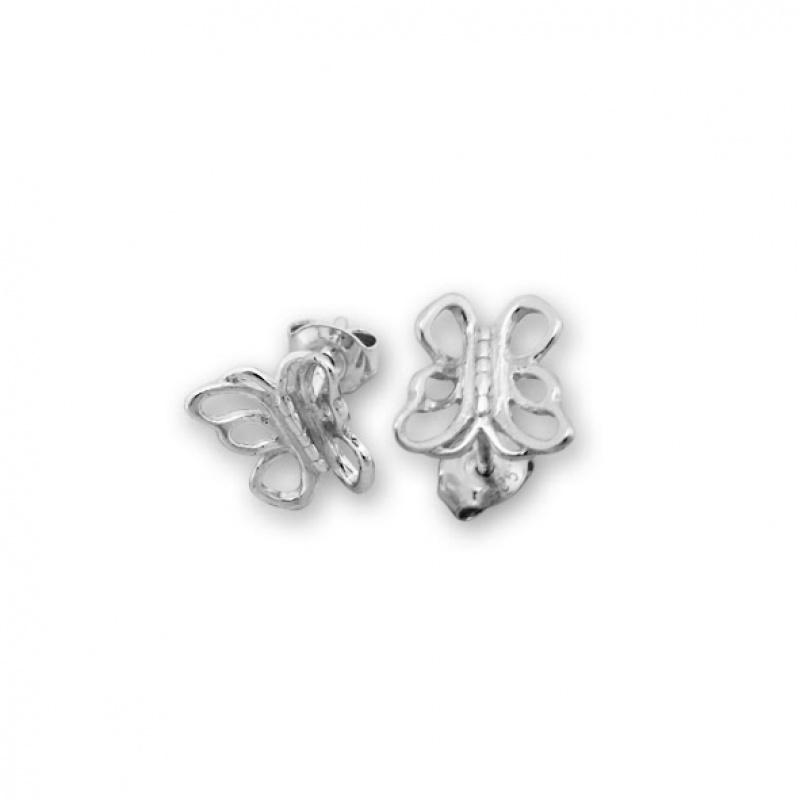 Barclay 2 - Сребърни обеци без Камък 111065-Сребърни бижута