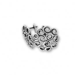 Cara - Сребърни обеци без Камък 132051-Сребърни бижута