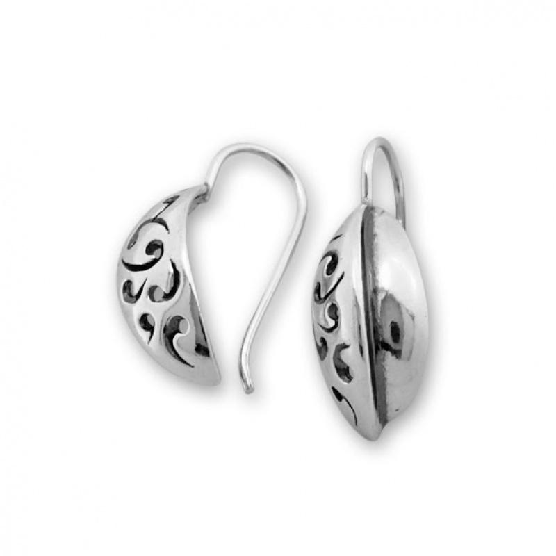 Dianny - Сребърни обеци без Камък 132054-Сребърни бижута