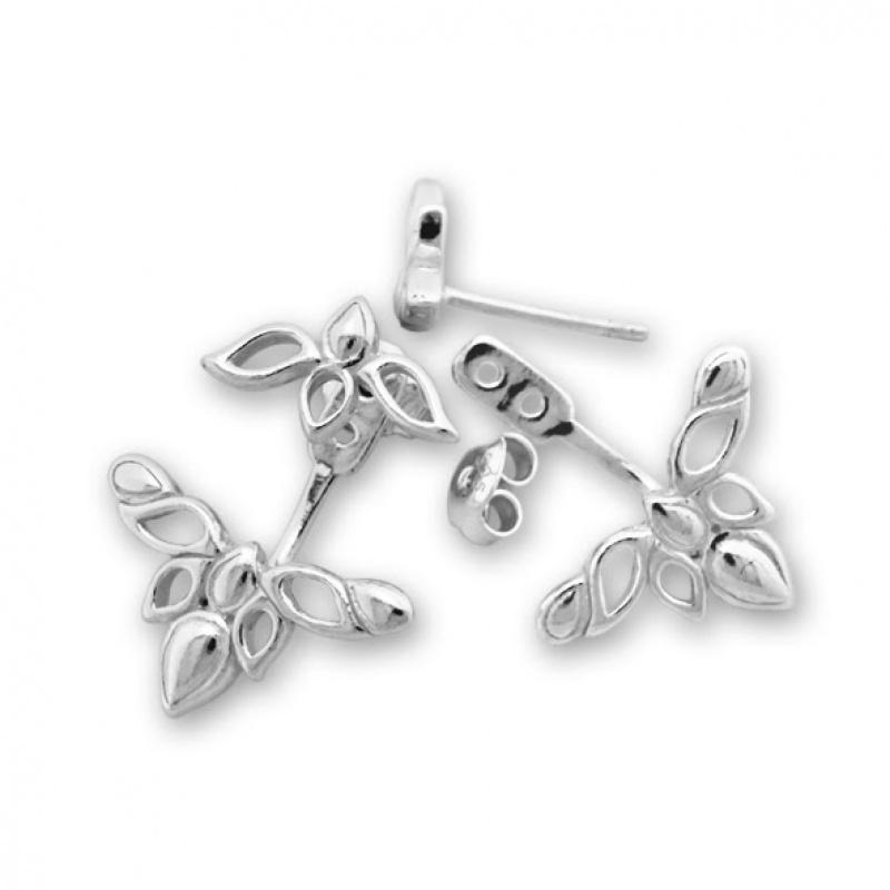 Dollie - Сребърни обеци без Камък 133050-Сребърни бижута