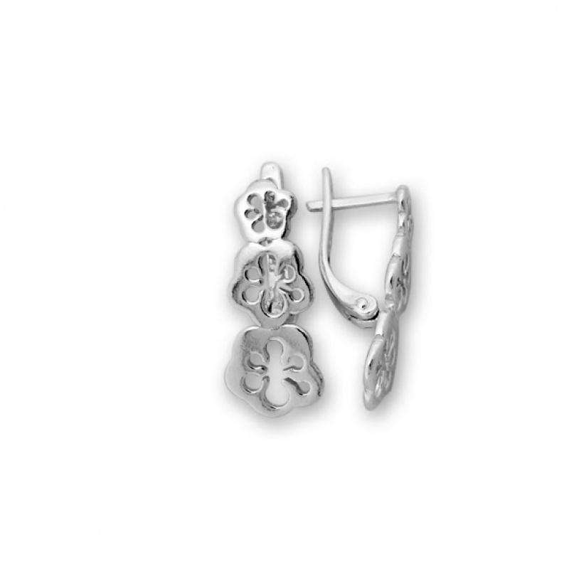 Barclay - Сребърни обеци без Камък 133056-Сребърни бижута