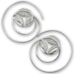 Briony - Сребърни обеци с Цирконий 137058-Сребърни бижута