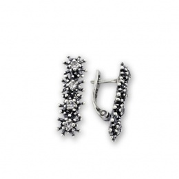 Breann - Сребърни обеци с Цирконий 138057-Сребърни бижута
