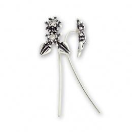 Breann - Сребърни обеци с Цирконий 139057-Сребърни бижута