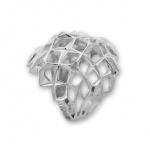 Deanne - Сребърен пръстен без Камък 1515271-Сребърни бижута
