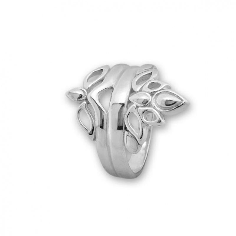 Dollie - Сребърен пръстен без Камък 1566050-Сребърни бижута