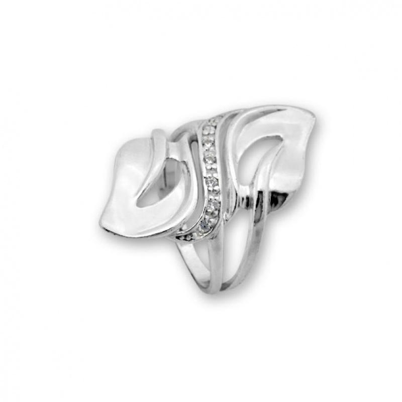 Deacon - Сребърен пръстен с Циркони 1616061-Сребърни бижута