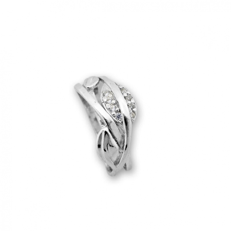 Briony - Сребърен пръстен с Цирконий 1626058-Сребърни бижута