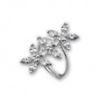Calen - Сребърен пръстен с Цирконий 1626066-Сребърни бижута