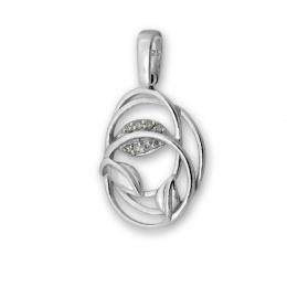 Briony - Сребърна висулка с Цирконий 174058-Сребърни бижута