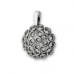 Cara - Сребърна висулка без Камък 180051-Сребърни бижута