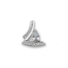 Monti - Сребърна висулка с Цирконий 186623-Сребърни бижута