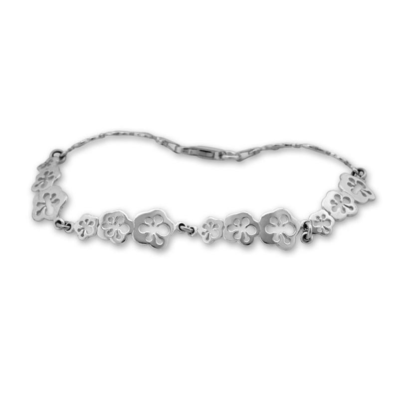 Barclay - Сребърна гривна без Камък 200056-Сребърни бижута