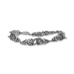 Bev - Сребърна гривна с Цирконий 200059-Сребърни бижута