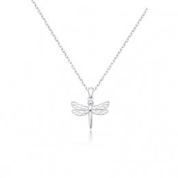 Dragonfly - Сребърна висулка Водно конче 171063632