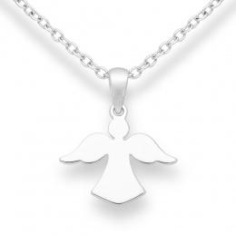 Sweety Angel - Сребърна висулка Ангел без Камък 10632131