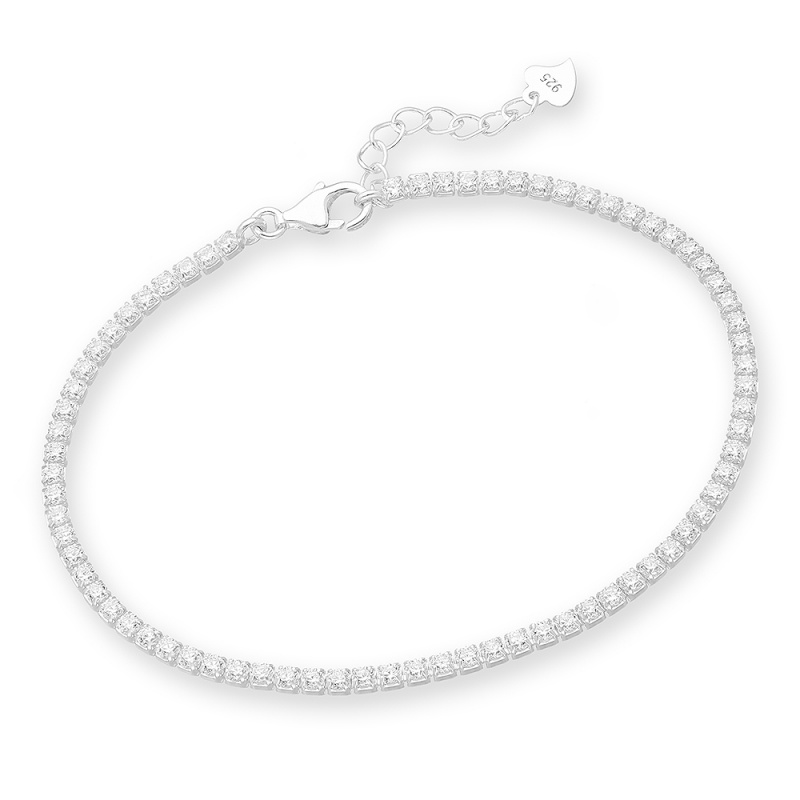 Ferla - Сребърна гривна с Цирконий 70121893-Сребърни бижута