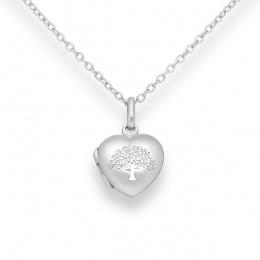 Loves - Сребърна висулка Сърце без Камък 70613427