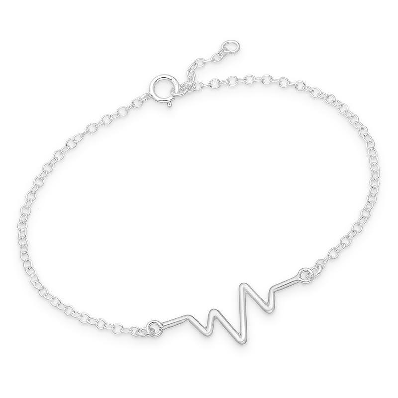 Alcinia - Сребърна гривна Пулс без Камък 70620966-Сребърни бижута