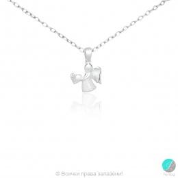 Angel 5 - Сребърна висулка Ангелче с Циркон 171063954