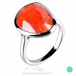 Luella - Сребърен пръстен с Кварц 2237SP-Естествени камъни