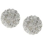 Leesan - Сребърни обеци с кристал Swarovski so313-Кристали