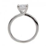 Celia - Сребърен пръстен с Кубичен Циркон 1625997-Сребърни бижута