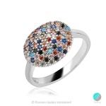 Alais - Сребърен пръстен с Циркони 1356A-Сребърни бижута