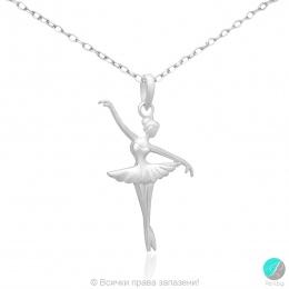 Ballerina 7 - Сребърна висулка Балерина 171063834-Сребърни бижута