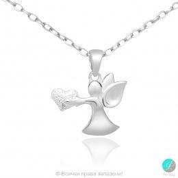 Angel 9 - Сребърна висулка Ангелче 171063958