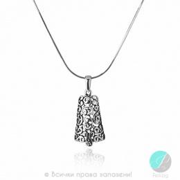 Adamina - Сребърна висулка без Камък 181033-Сребърни бижута