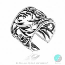 Johanne - Сребърен пръстен без Камък 1536008-Сребърни бижута