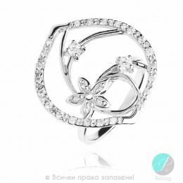 Adriane - сребърнен пръстен с Цирконий 1696091