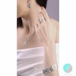 Adamina - Сребърни обеци без Камък 133033-Сребърни бижута