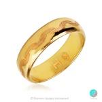 Harmony - Брачна халка 6 мм от жълто злато 14к / 585-Златни бижута