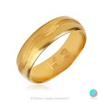 Forever - Брачна халка 6 мм от жълто злато 14к / 585-Златни бижута