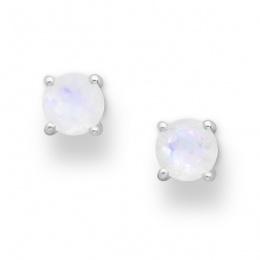 Julias - Сребърни обеци с Лунен камък 11813859