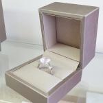 Lady love Rose quartz - Сребърен пръстен с Розов кварц и Циркони 4.03ct R014176RQ-Естествени камъни