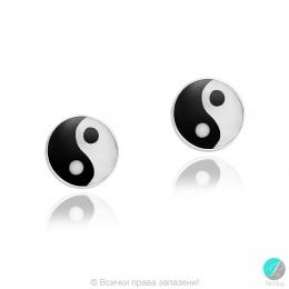 Malita - Сребърни обеци с Резин и Седеф 477893305
